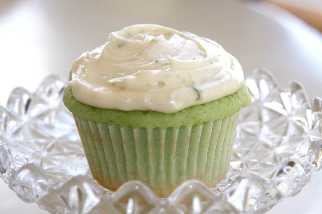 Just found Delight- Key Lime Cupcakes