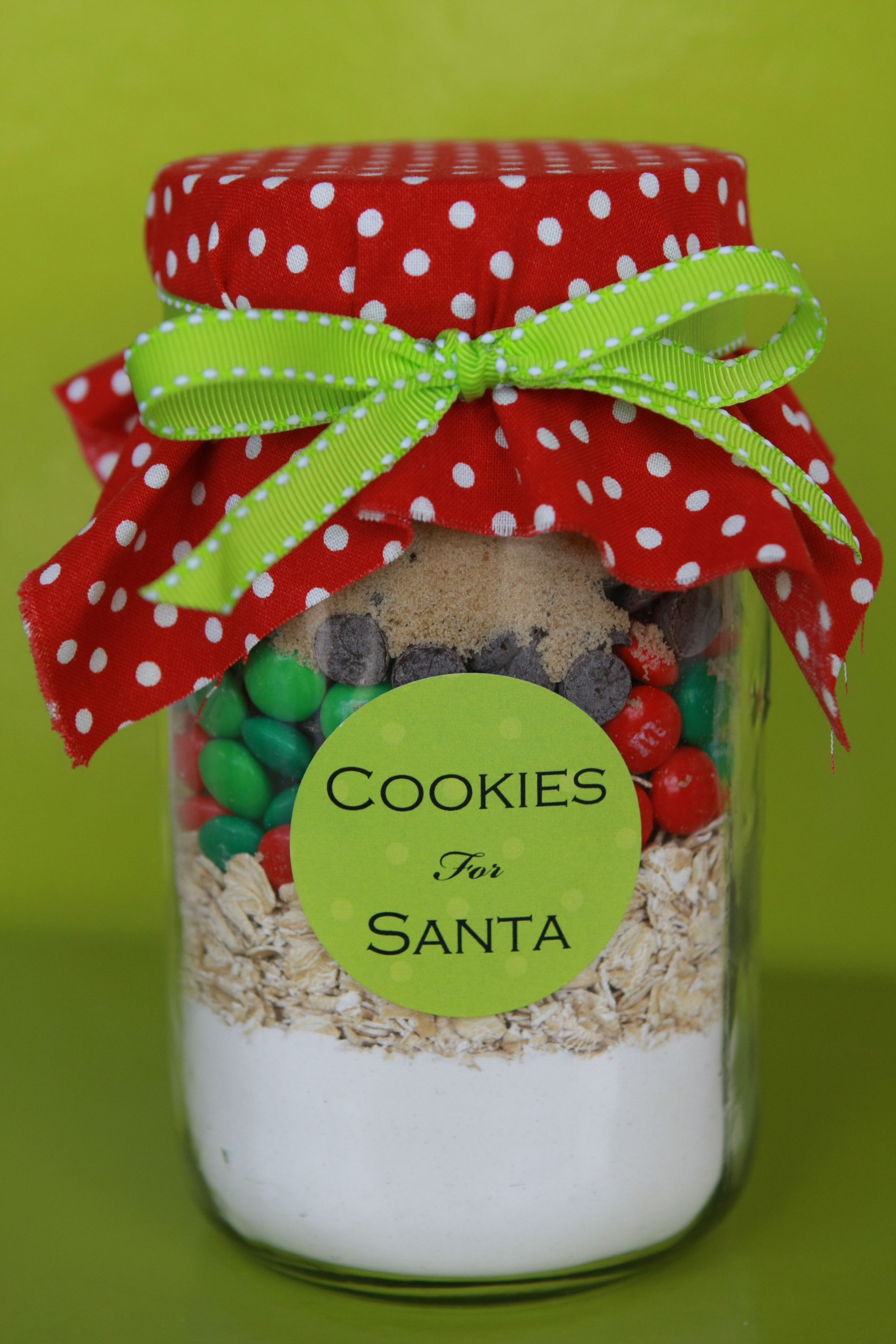 Cookie in a jar christmas gifts