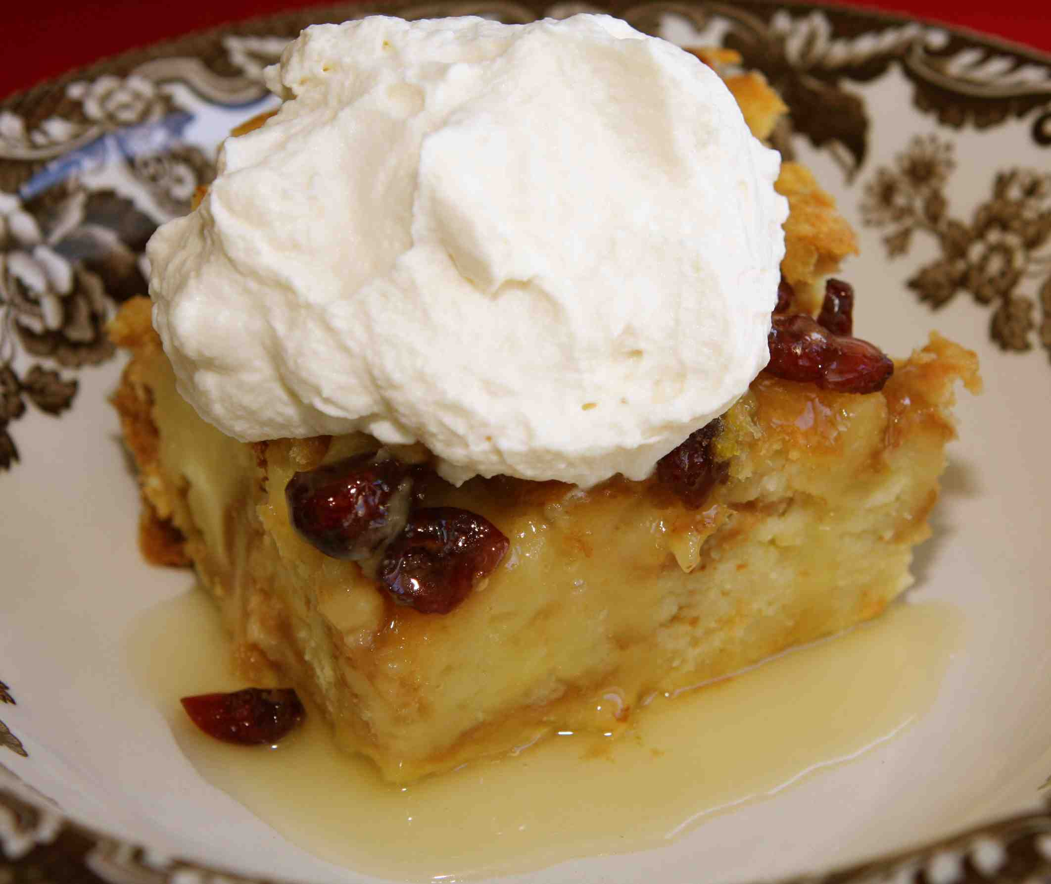 Croissant Pudding Recipe — Dishmaps