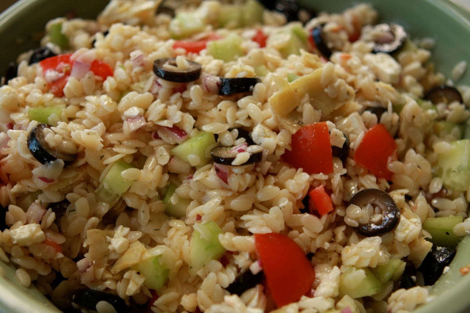 orzo salad rr greek orzo salad orzo greek salad cover greek orzo salad ...
