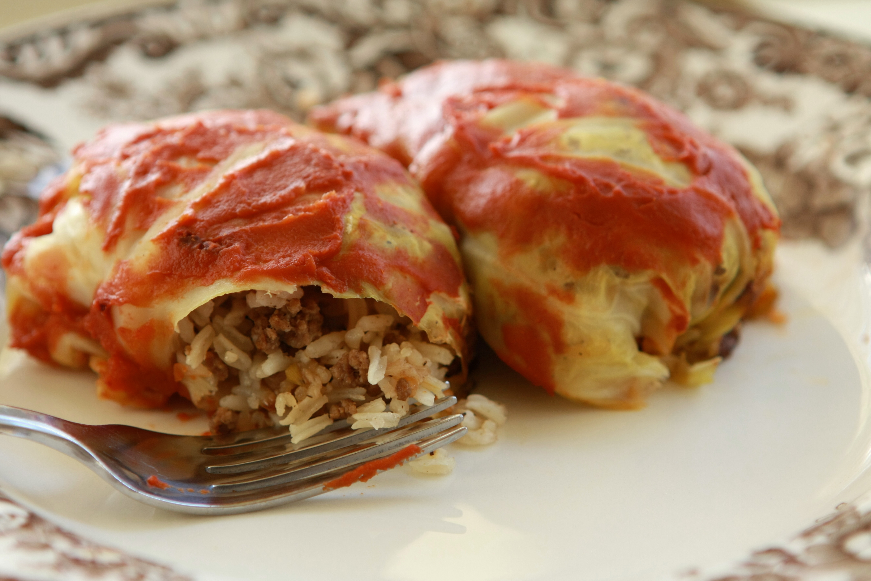 Dinner on a budget delicious cabbage rolls forumfinder Choice Image